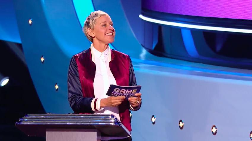 Ellen DeGeneres in Ellen's Game of Games, NBC