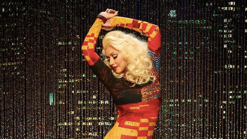 Christina Aguilera on The Voice