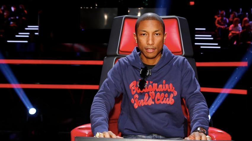 Pharrell Williams on The Voice