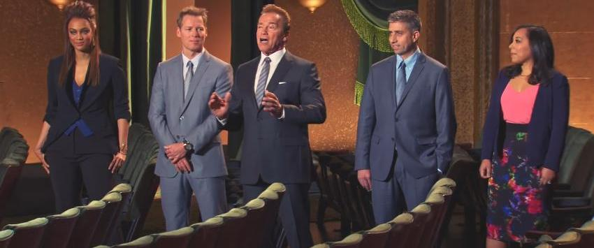 Arnold Schwarzenegger in The New Celebrity Apprentice