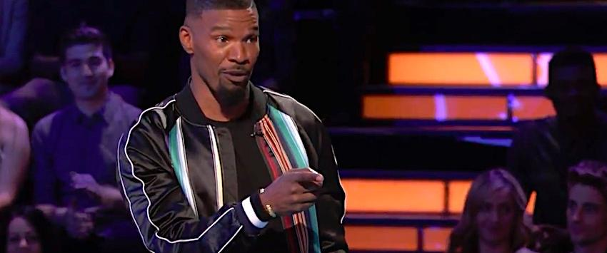 Jamie Foxx in Beat Shazam