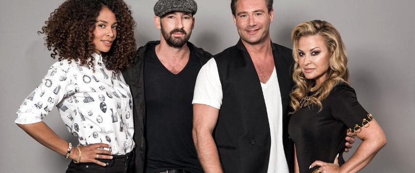 Joy Denalane, Gentleman, Sasha and Anastacia in German Rising Star