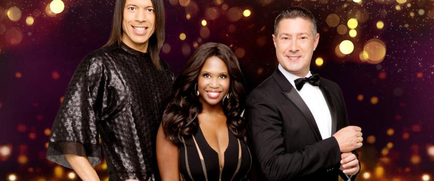 Jorge Gonzalez, Motsi Mabuse and Joachim Llambi in Stepping Out