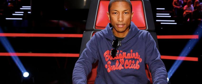 Pharrell Williams on The Voice