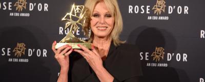 Joanna Lumley at 57th Rose d'Or Awards. Source: EBU